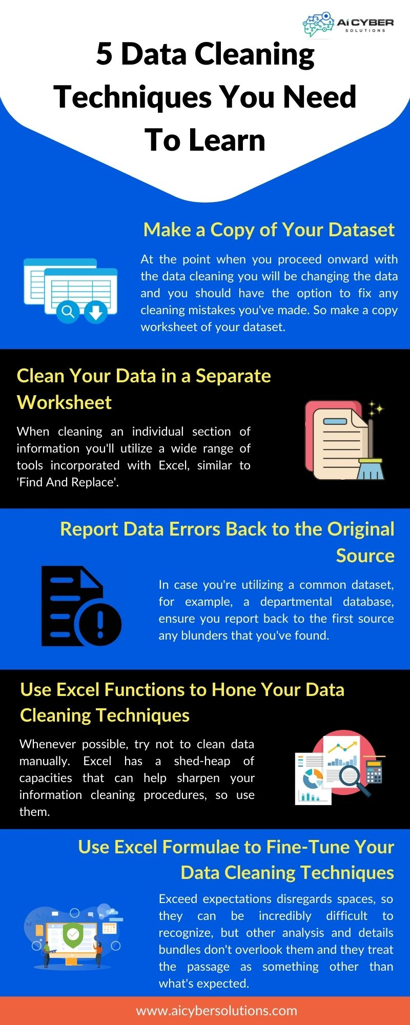 5 Data Cleaning Techniques You Need To Learn